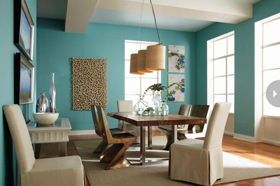 2014 Paint Colour Trends  Multicoloured Hue And Turquoise Captivating 2014 Dining Room Colors 2018