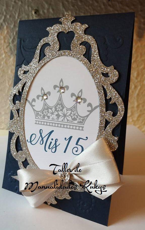 Invitaciones de 15 años #fiestade15años