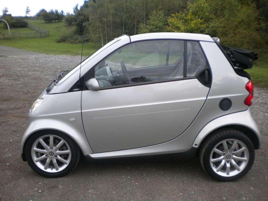 Used Smart Car Convertible Fortwo