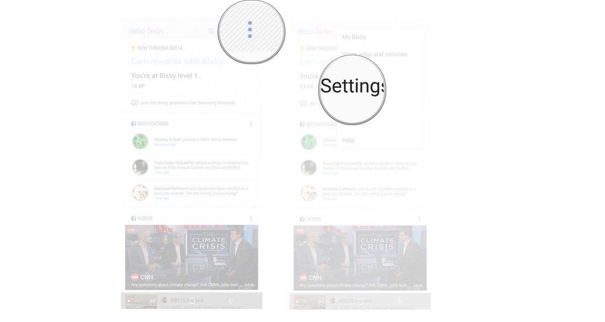 تلميحة حول طريقة تغيير اللغة وأسلوب التحدث في مساعد سامسونج الشخصي Bixby نيوتك New Tech Map Projects To Try Bts Eyes