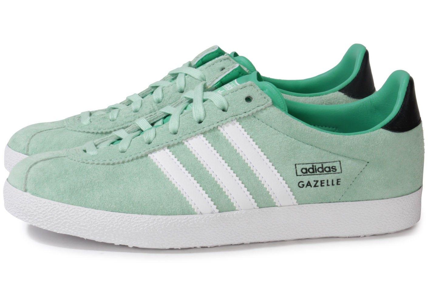 gazelle adidas vert d'eau