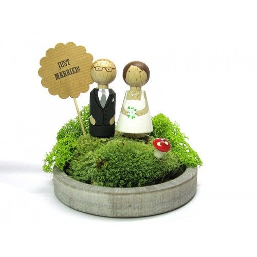 shopandmarry.de: WeddingCake-Toppers  individuelles Design