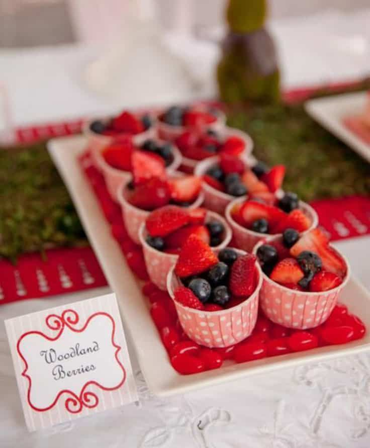 Fairy Party Food Ideas #childrenpartyfoods