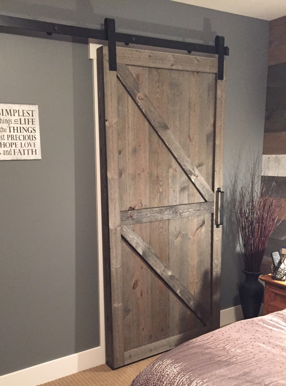 Inspiration Great American Spaces Old Barn Doors Basement