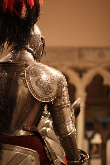in Medieval porn knight armor