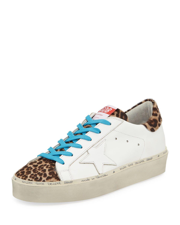 Golden Goose Hi Star Leather \u0026 Leopard