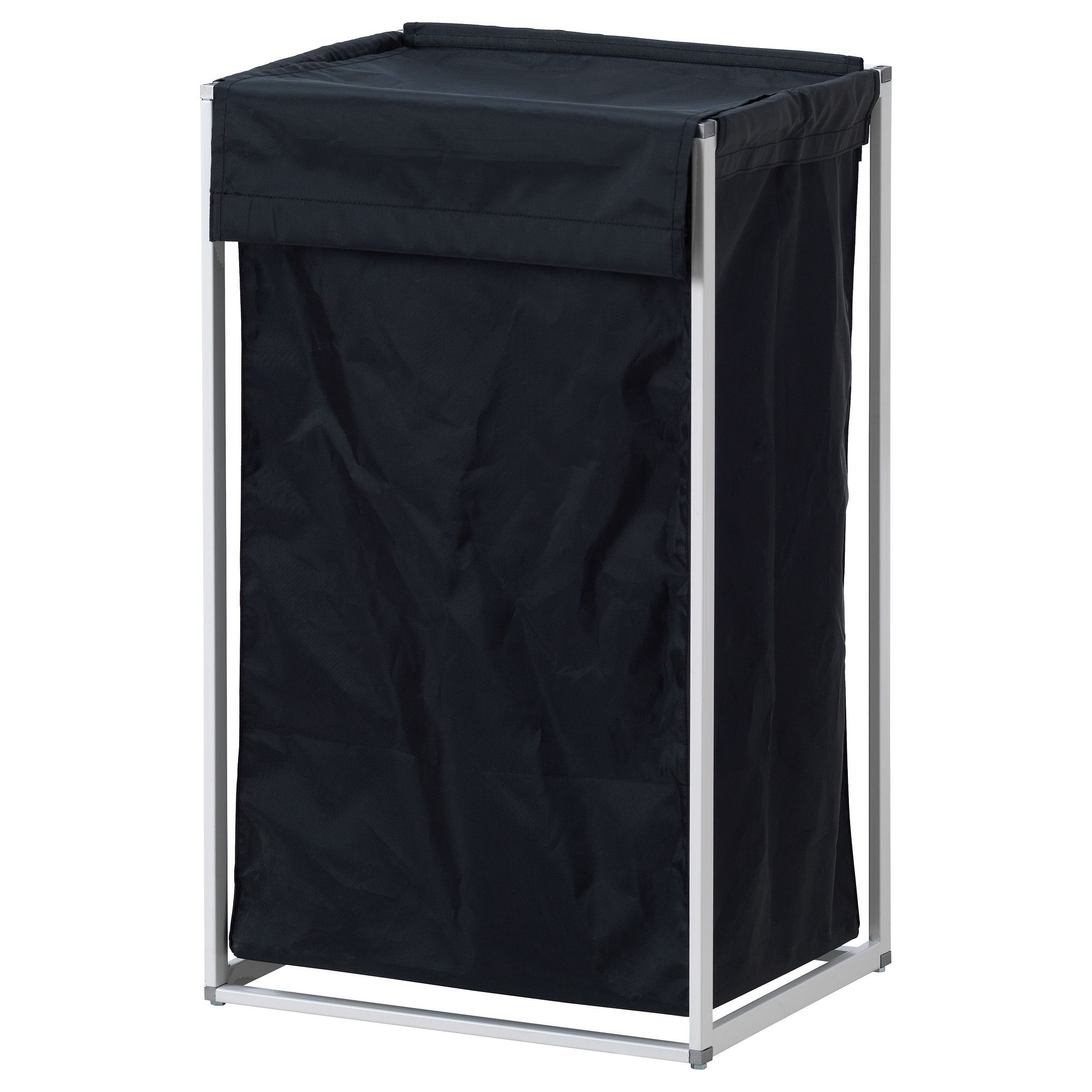 ANTONIUS Laundry bag with stand, black   IKEA $12.99   Organize Me ...