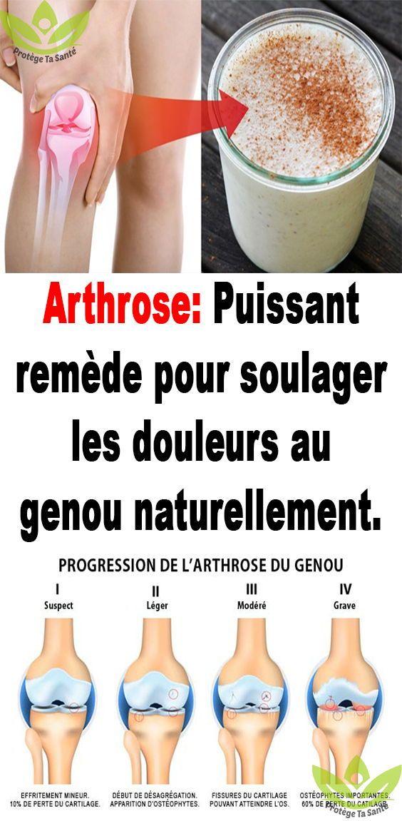 remede pour arthrose du genou