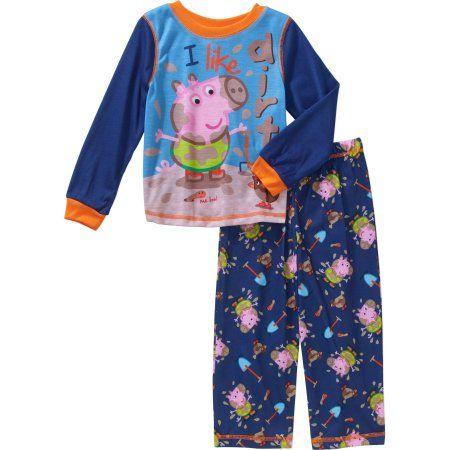 4d7eb33b5bb0 Peppa Pig Toddler Boys  George Pajamas 2-Piece Set