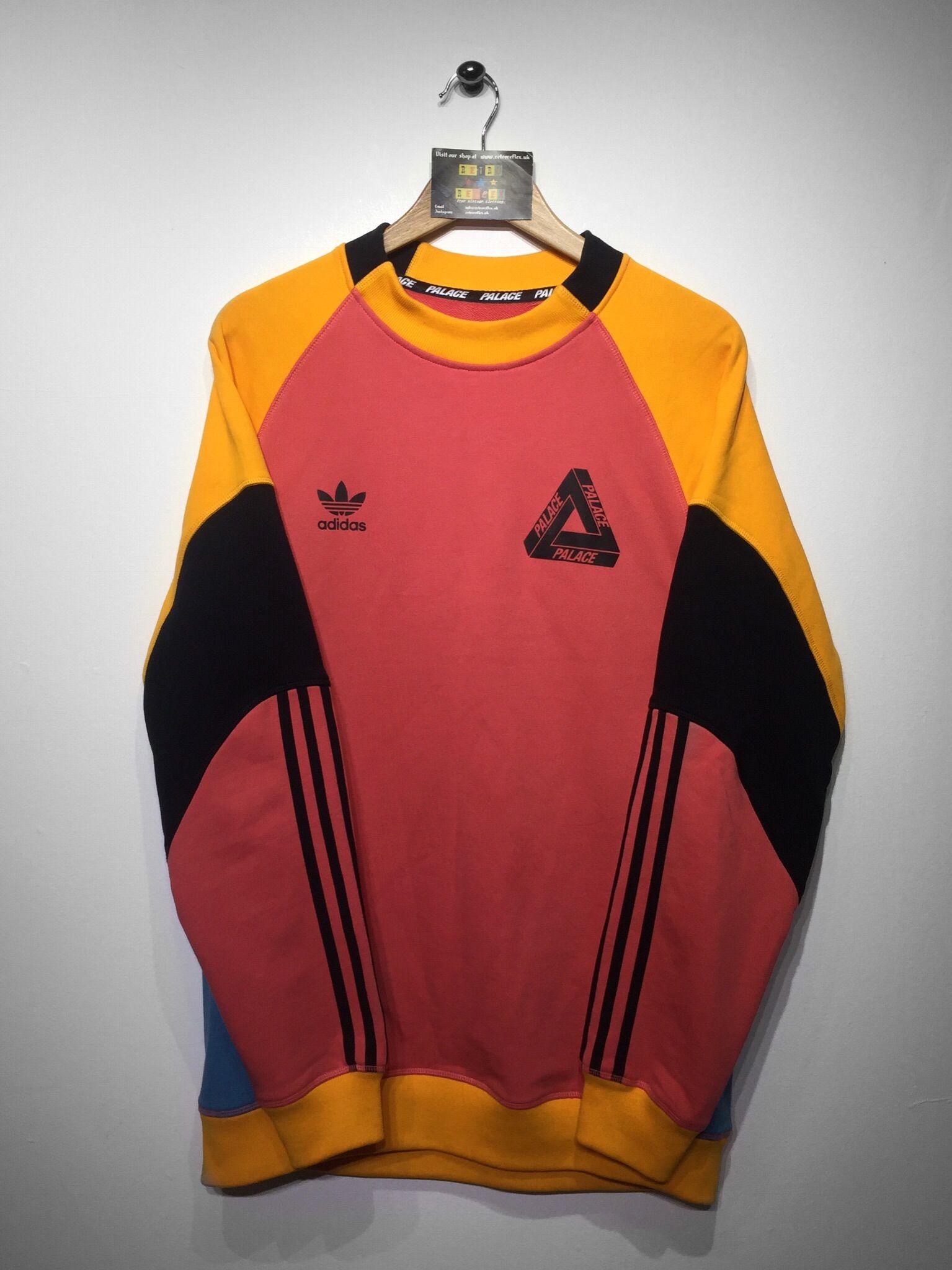 36cc9831873 Adidas x palace sweatshirt size X Large (but Fits Oversized) £180 Website