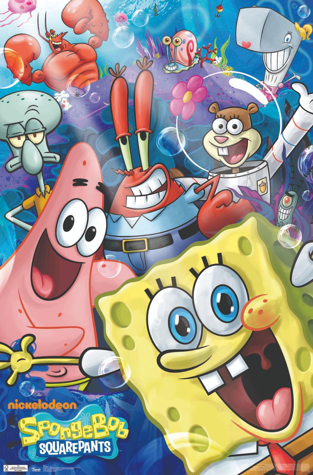 Spongebob SquarePants Poster - Cartoon POSTERS