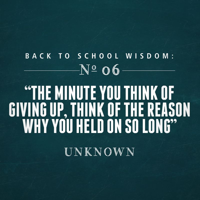 Quotes For Middle School Students: Back To School Quote Make Sure To