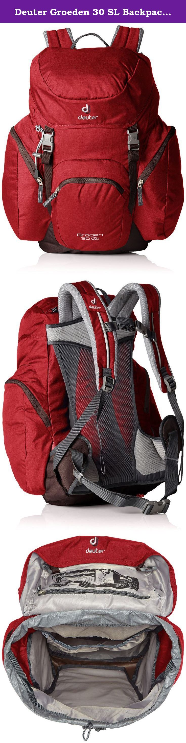 8966f52ca4406 Deuter Groeden 30 SL Backpack - Cranberry Aubergine. The renaissance of a  classic!