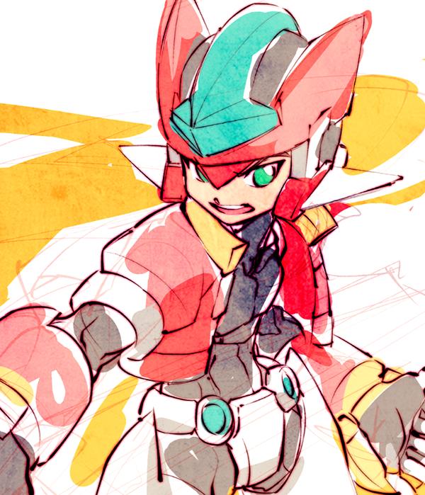 Kin Rock Mega Man Heroes Reborn Megaman Zero