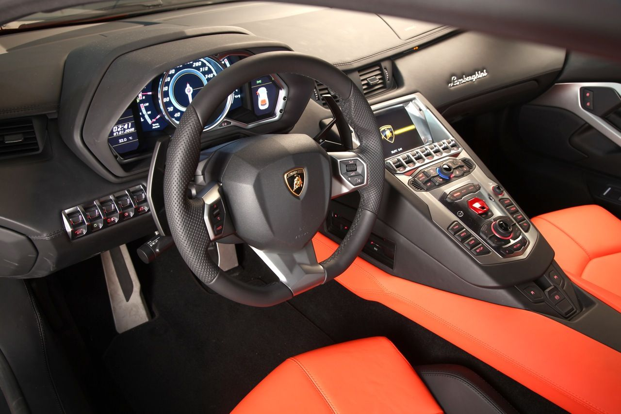 Inside And Out Of The New Raging Bull 2012 Lamborghini Aventador