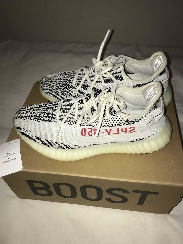 fca6f44fdf4f9 Adidas Men s Yeezy Boost 350 V2 Zebra Shoes Size 7 D(M) US Pre-Owned 100%  Real  fashion  clothing  shoes  accessories  mensshoes  athleticshoes  ad  (ebay ...