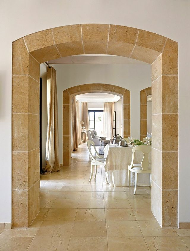 Dream House In Spain Arches Visualize And Create Transform Your Current Home Into You Dream Home House Arch Design Stone Archway Spanish Style Architecture