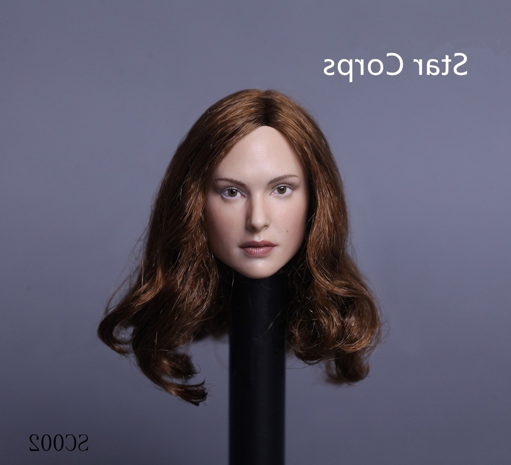 """39.99$  Watch now - http://aliw7w.worldwells.pw/go.php?t=32758405266 - """"Star Crops SC002 1/6 Beautiful Head Model Natalie Portman Female Head Carving For 12"""""""" Action Figure Doll Toys Collection"""""""