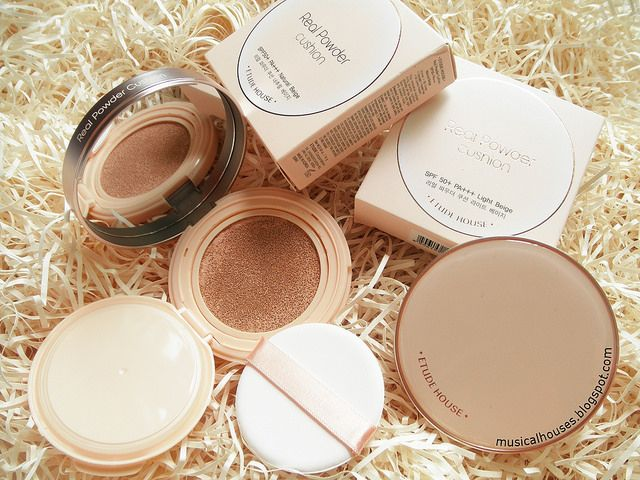 Etude House Real Powder Cushion Review Bb Makeup Oily Skin
