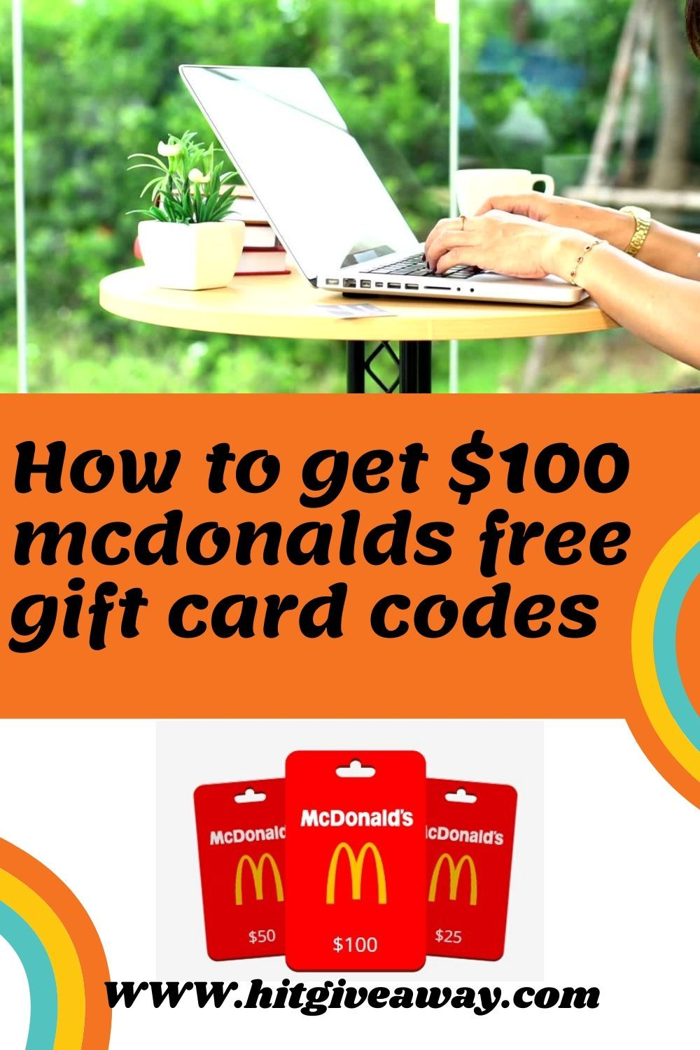 Photo of get $100 mcdonalds free gift card 100% Working
