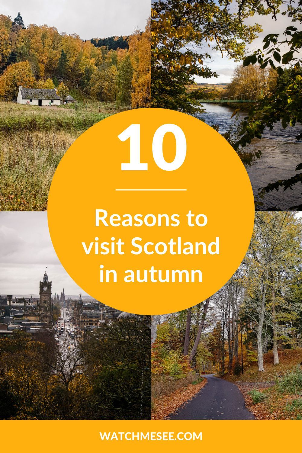 10 Reasons to visit Scotland in Autumn
