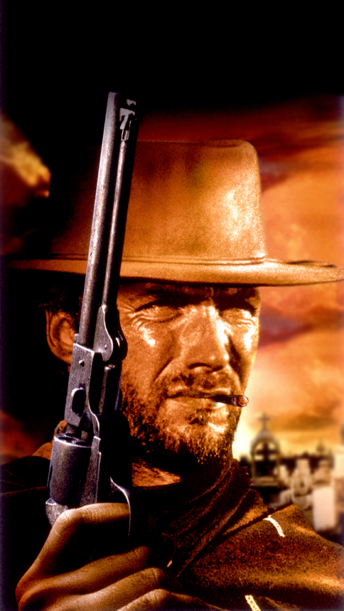 Free Clint Eastwood Mobile Wallpaper By Robjm On Tehkseven