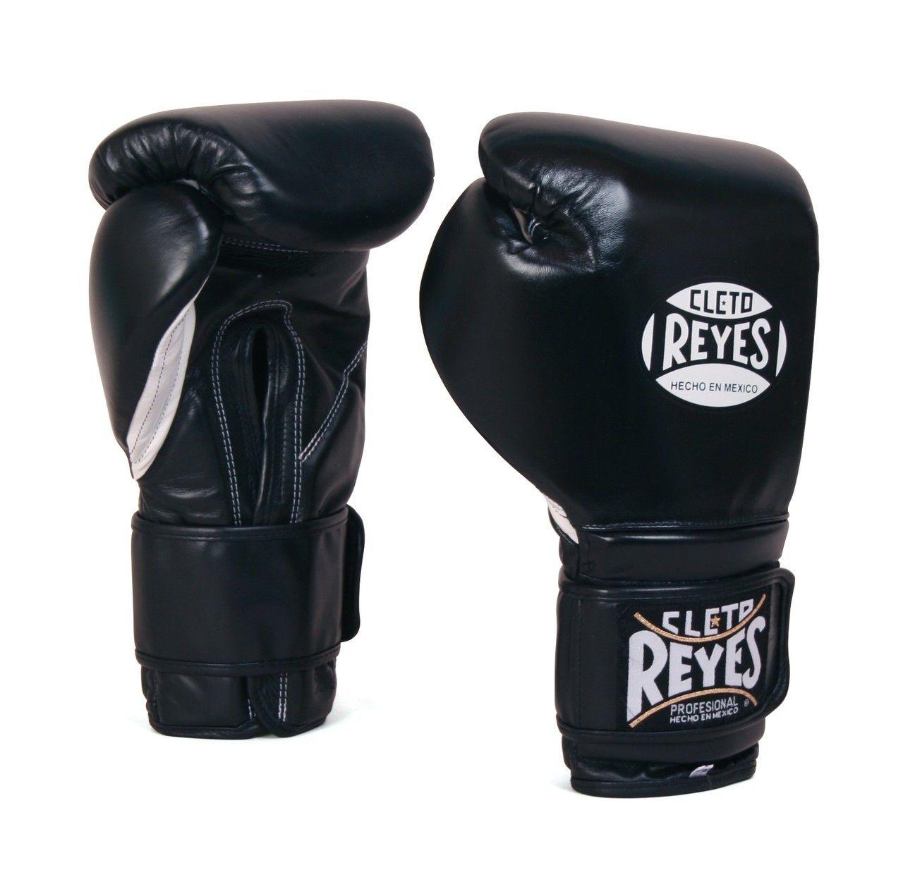 Cleto Reyes Hook and Loop Training Gloves (Black)