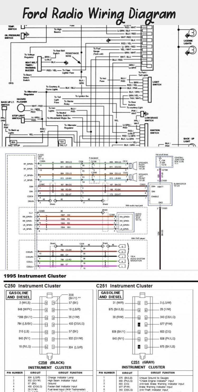 Radio Wiring Diagram / Stereo Wiring Diagram Yotatech