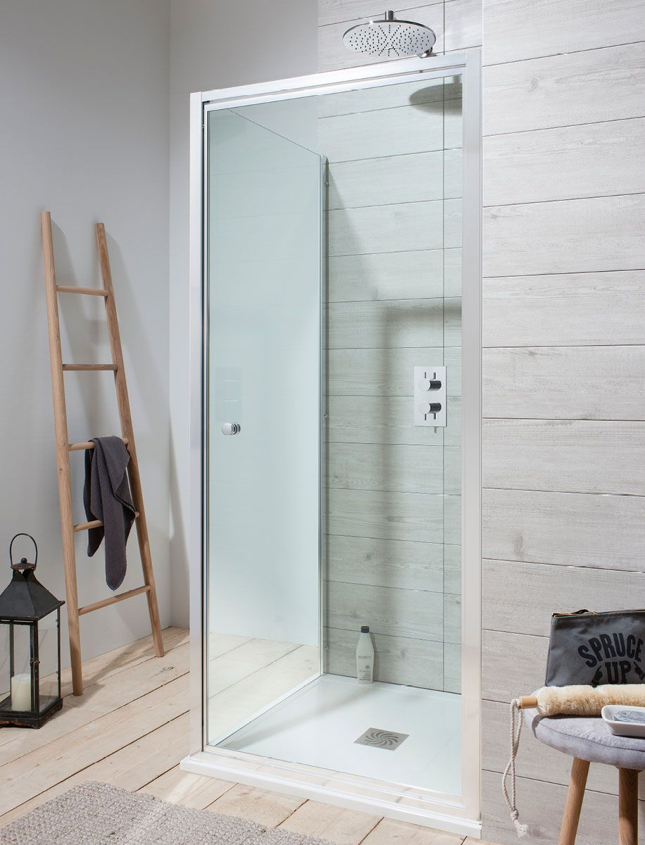 Edge Pivot Shower Door in Pivot Doors | Luxury bathrooms UK ...