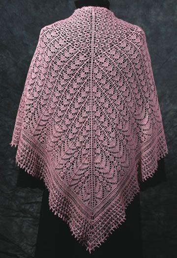 Chantilly Sjaal Lale Pinterest Shawl Lace Knitting Patterns