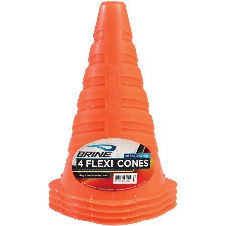 Brine Field Cones, Orange