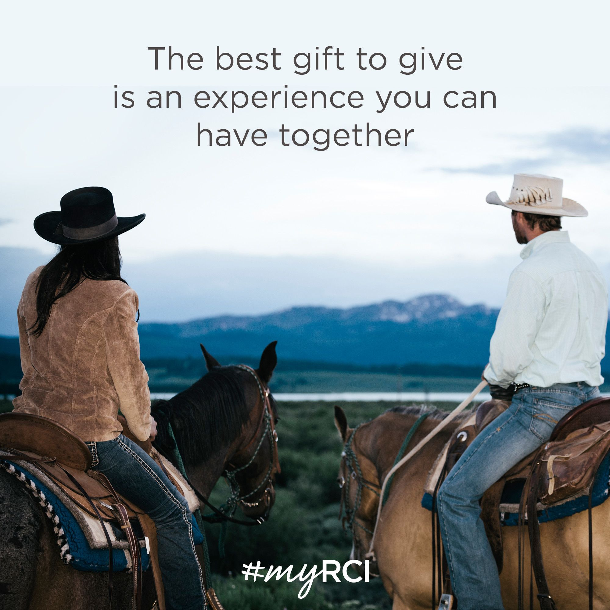 The Best Gift To Give Is An Experience You Can Have Together