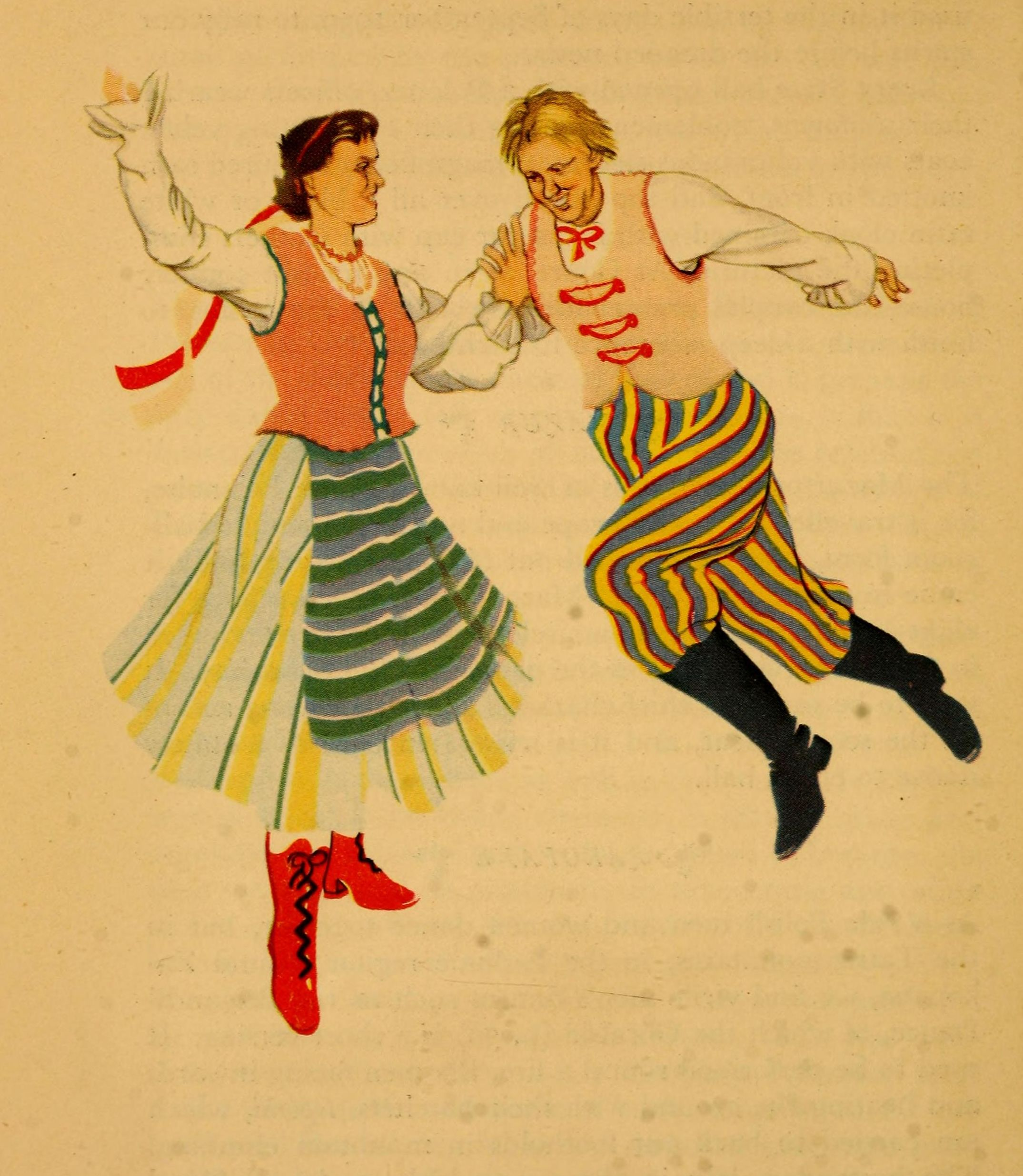 Polish Dancing! There are hundreds of public domain music