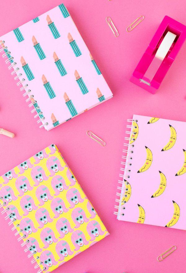School Book Covers Printable Tumblr : Cute diy notebook covers pixshark images