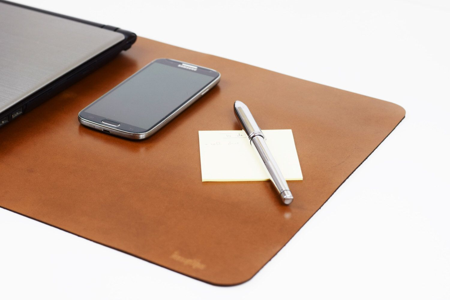 Bon Leather Desk Pad, Leather Desk Mat, Desktop Mouse Pad, Office Mouse Pad,