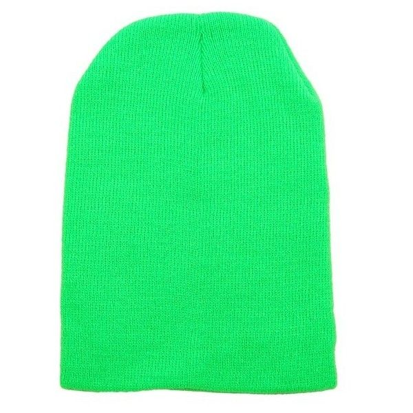 2af35161959 Neon Green Beanie ( 13) ❤ liked on Polyvore featuring accessories ...
