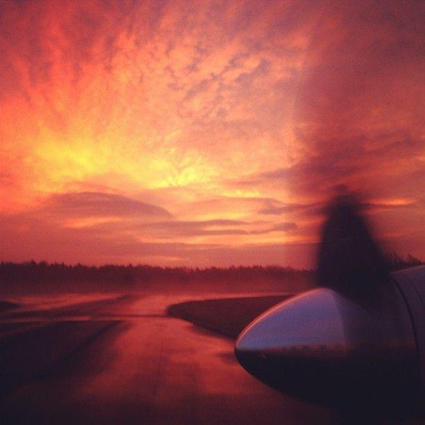 Beautiful sunrise in Concord, NC