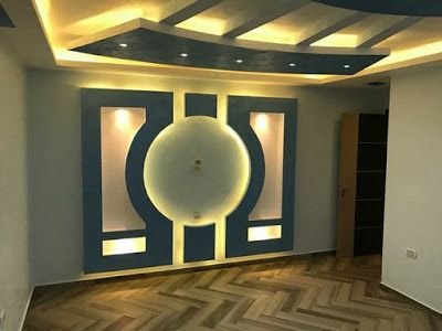 gypsum board false ceiling designs with indirect lighting ...