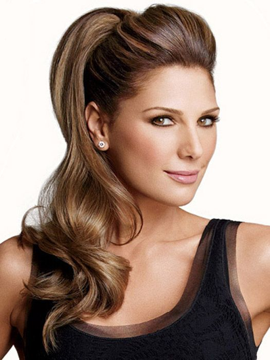22 Inch Pony Fall Extension By Daisy Fuentes Wow Cabello Y Belleza