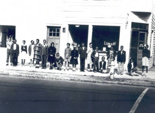 """In 1926, a group of African-American residents of Wilmington, NC, asked if they could use the Wilmington Public Library. They were denied and within a few months they raised enough money to start their own library at Giblem Masonic Hall."""