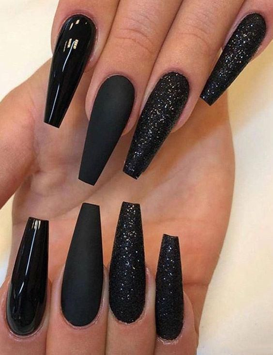 40+ TRENDY LOOKING NAIL SHAPES FOR THIS FALL AND WINTER - Page 35 of 44 - Breyi