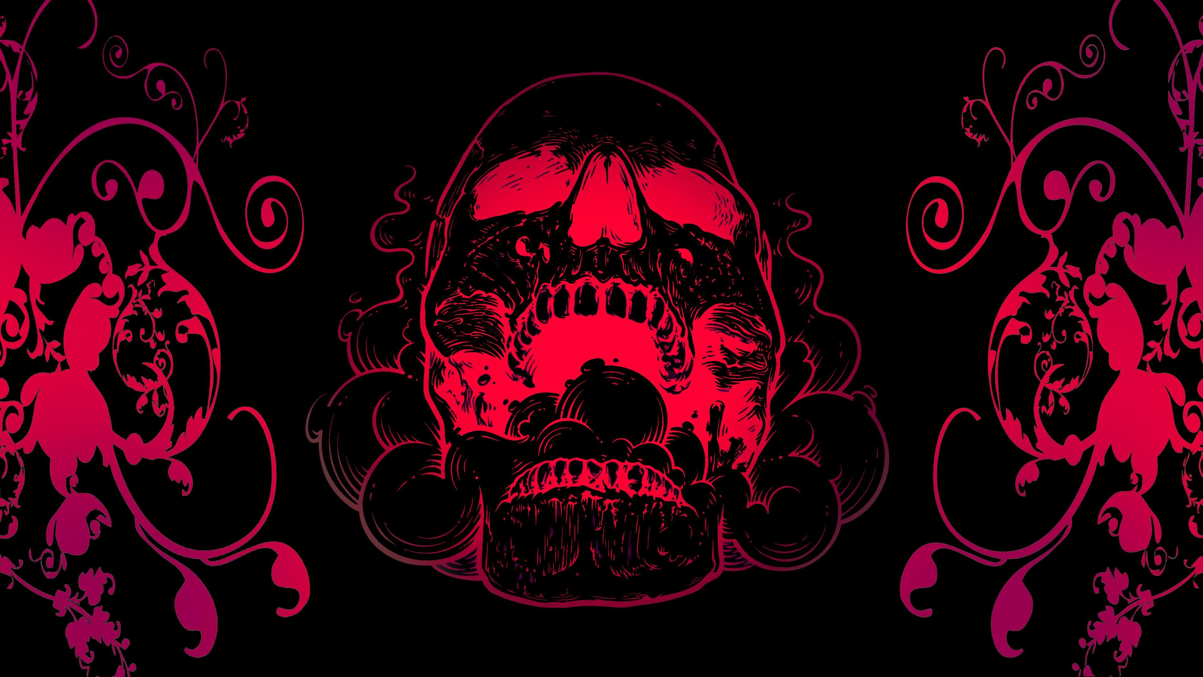 Dark Skull Evil Horror Skulls Art Artwork Skeleton D Wallpaper 1920x1440 694562 Wallpaperup Black Skulls Wallpaper Skull Wallpaper Skull Pictures