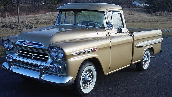 1959 Chevrolet Apache Fleetside Pickup Maintenancerestoration Of