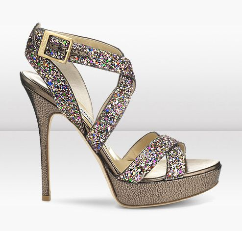 Vamp These Perfect Summer Stry Sandals In Playful Multi Coloured Glitter Fabric Create The Ultimate Evening Look
