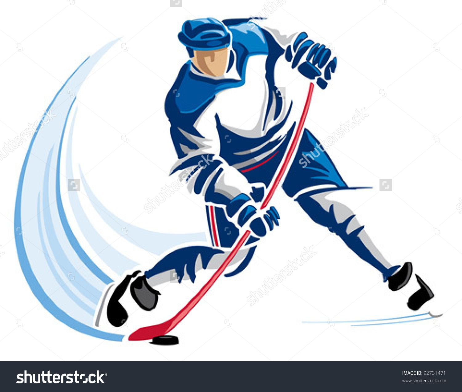 Hockey Player Stock Photos, Images, & Pictures | Shutterstock ...