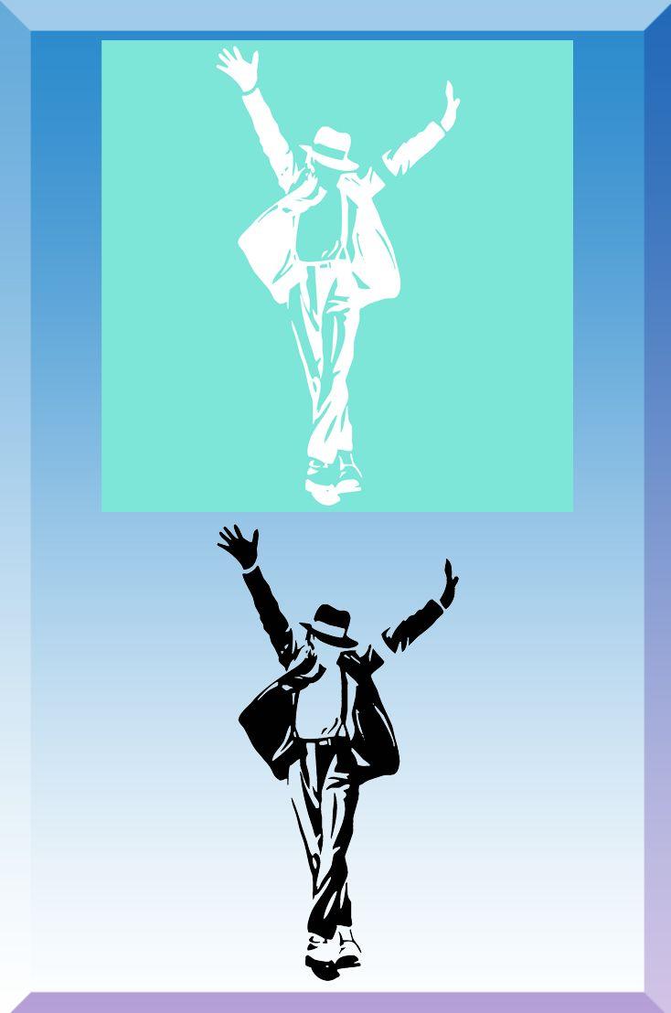 Michael Jackson - King of Pop - Airbrush Schablone und Vorlage Die ...