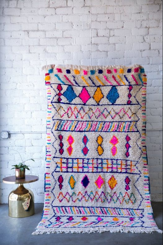 Best Multi Colored Authentic Moroccan Rug Berber Carpet 400 x 300