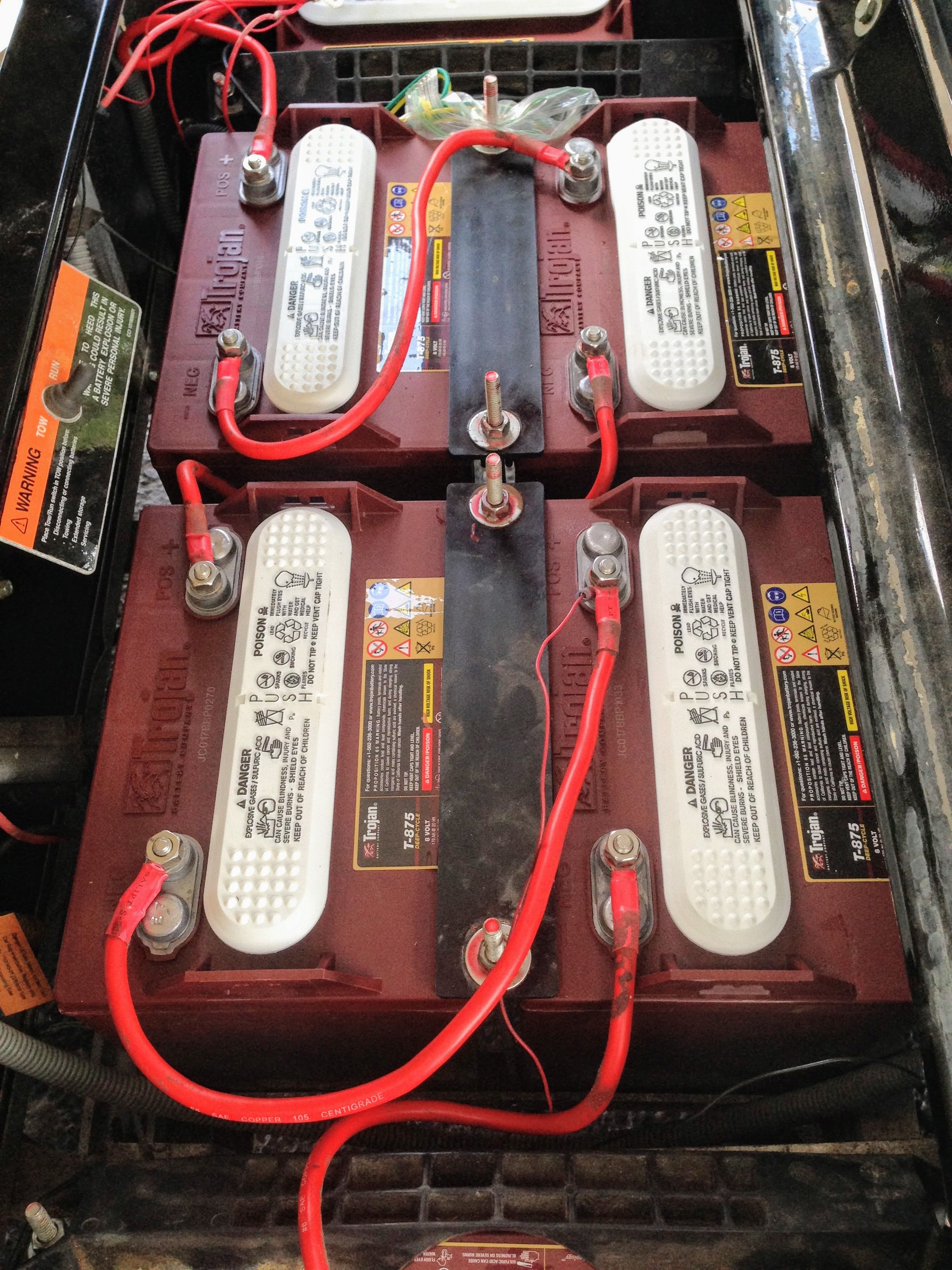 Electric Golf Cart Batteries Voltage Plate Thickness And More