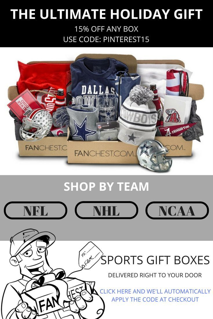 Take 15 Off The Ultimate Holiday Gift For Sports Fans