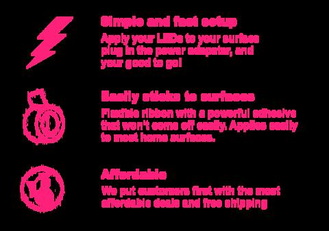 Ultrabright Led Strip 44 Button Remote Led Strip Led Lighting Bedroom Led